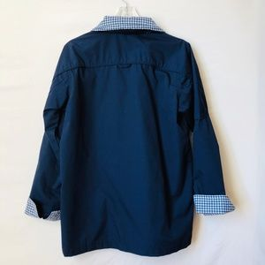 Blair Jackets & Coats - Blair Navy Blue Rain Coat Size Small